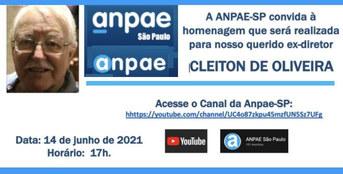 Homenagem Cleiton de Oliveira